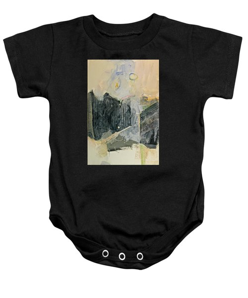 Hits And Mrs Or Kami Hito E  Detail  Baby Onesie