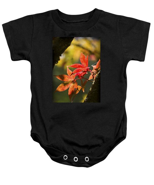 Baby Onesie featuring the photograph In Between... by Clare Bambers