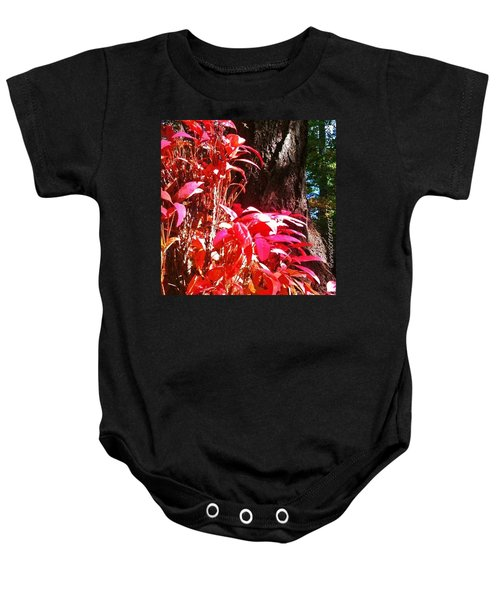 In The Shelter Of Your Arms Baby Onesie