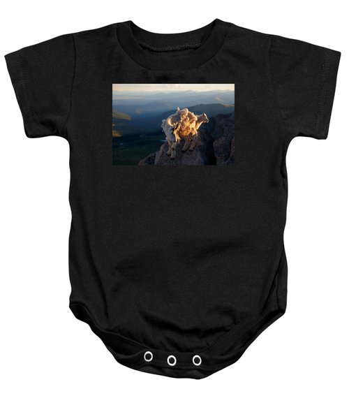 Two Faces West Baby Onesie