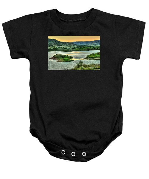 Lakeside View Baby Onesie