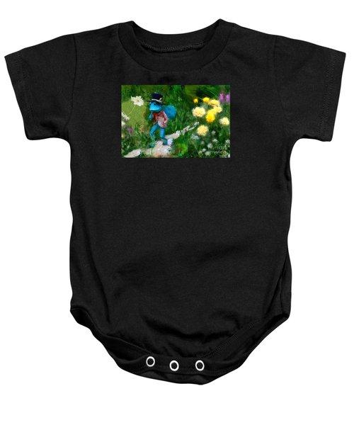 Lessons In Lifes Garden Baby Onesie