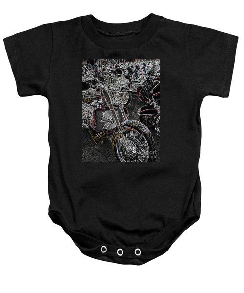 Lights Out 2 Baby Onesie