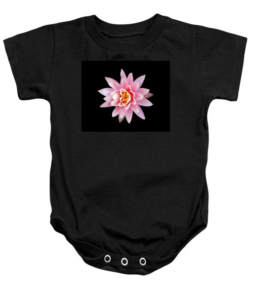Lily On Black Baby Onesie by Bill Barber