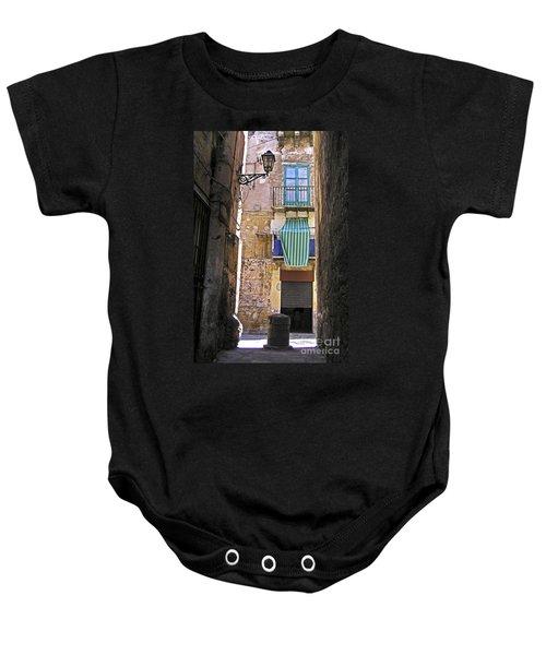 Little Street Of Palermo Baby Onesie