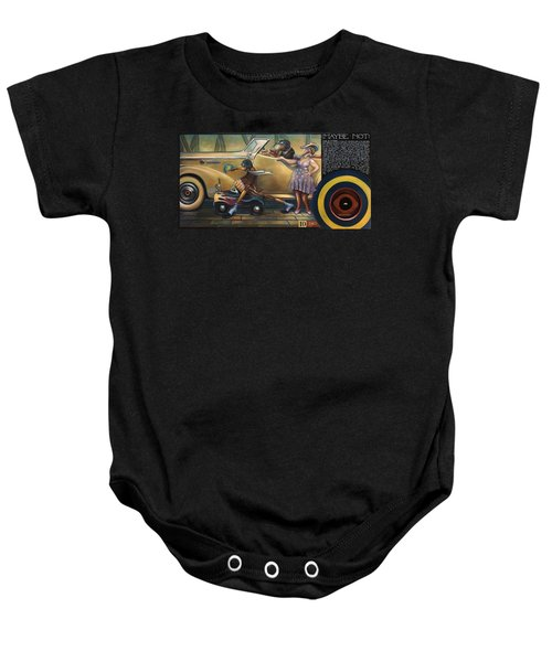 Maybe Maybe Not Baby Onesie by Patrick Anthony Pierson