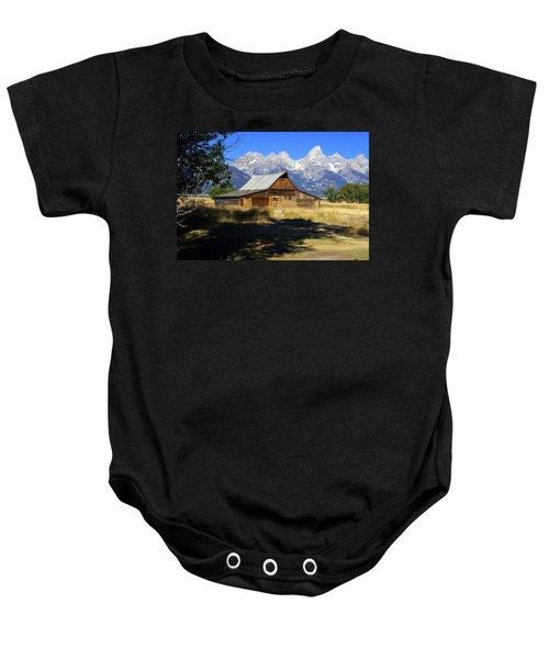 Mormon Row Barn Baby Onesie