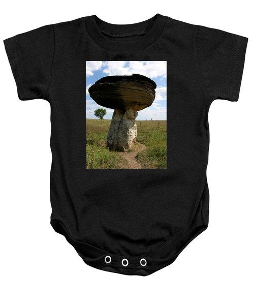 Mushroom Rock Baby Onesie