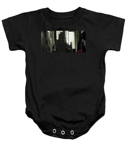 New York City Reflection Baby Onesie