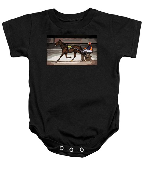 Night Trotter Baby Onesie