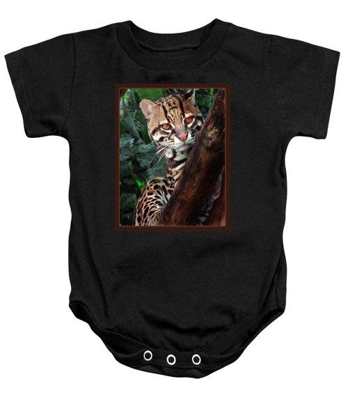 Ocelot Lookout Baby Onesie