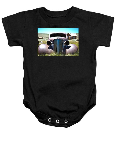 Baby Onesie featuring the photograph Ghost Rider by Shane Kelly