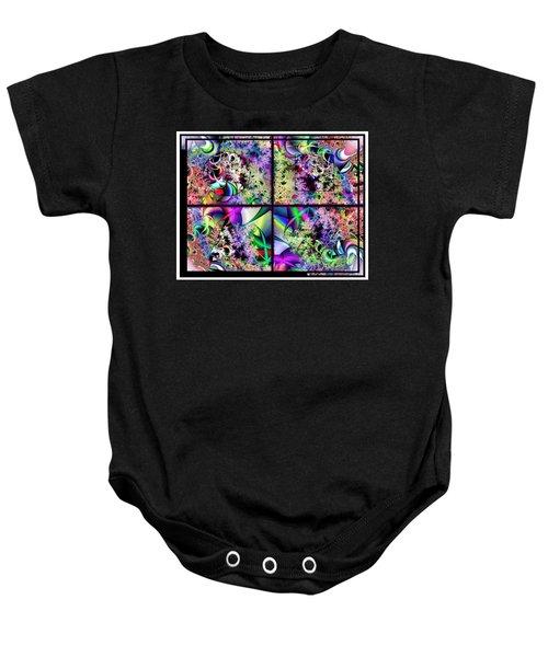 One Weirdass Design Baby Onesie