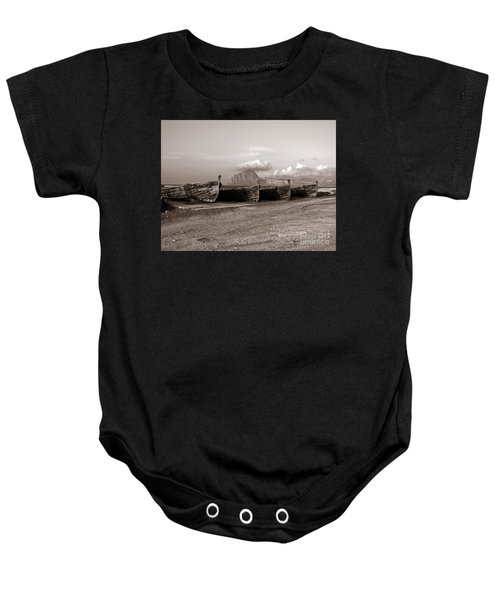 Old Port Of Trapani Baby Onesie