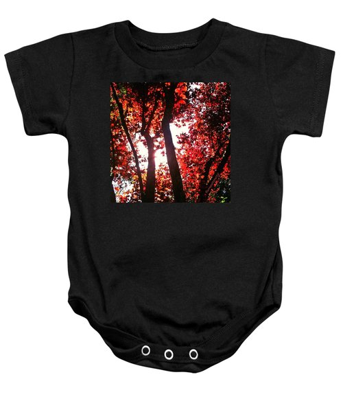 Reaching For Glory - Afternoon Light Baby Onesie