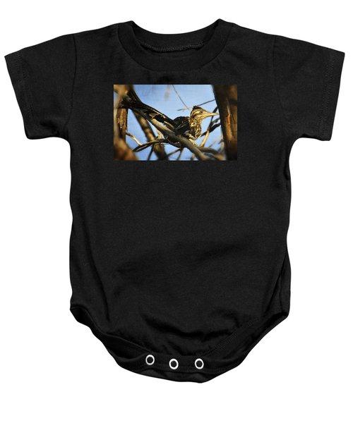 Roadrunner Up A Tree Baby Onesie by Saija  Lehtonen
