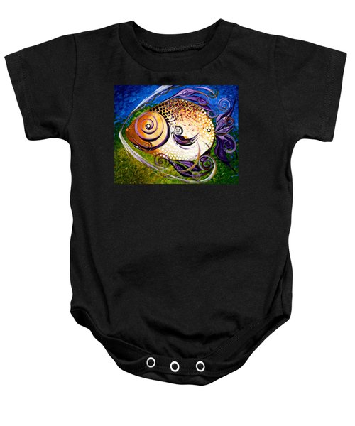 Seagrass And Sultry Non-subtlety Baby Onesie