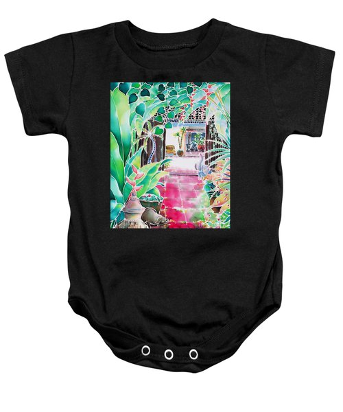Shade In The Patio Baby Onesie