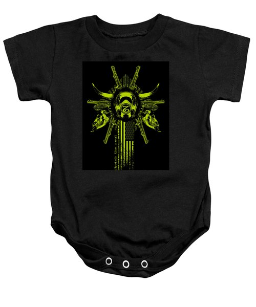 Six Shooter Baby Onesie