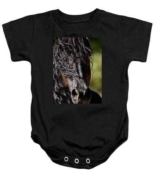 Snorting Good Looks Baby Onesie