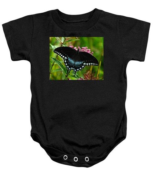 Spicebush Swallowtail Din038 Baby Onesie