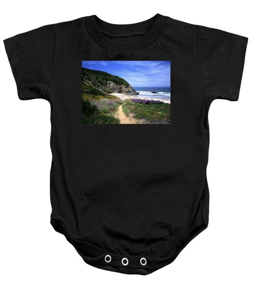 Springtime Trail  Dana Point Headlands Baby Onesie