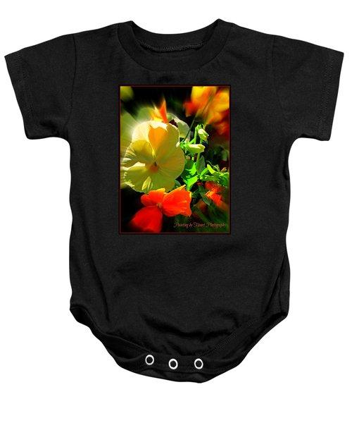 Summer Bloom Baby Onesie