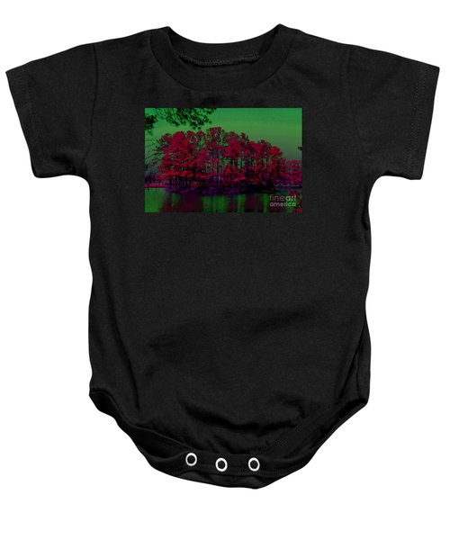 The Red Forest Baby Onesie