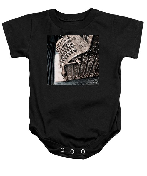 Thinking About Money Baby Onesie