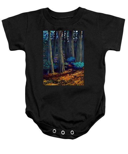 To The Woods Baby Onesie