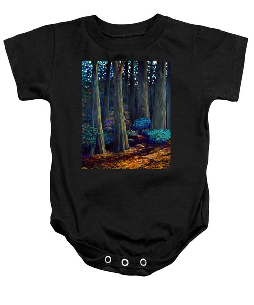 To The Woods Baby Onesie