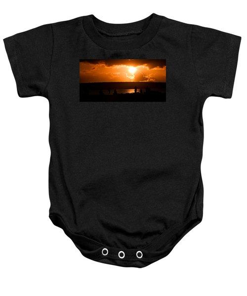 Watching Sunset Baby Onesie