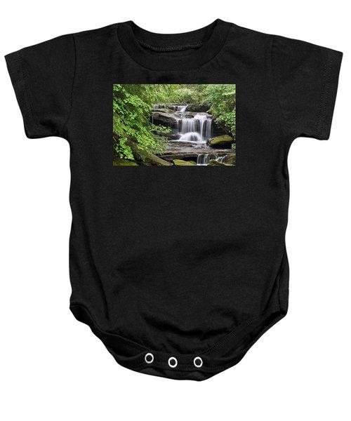 Waterfall Near Mabbitt Spring Baby Onesie