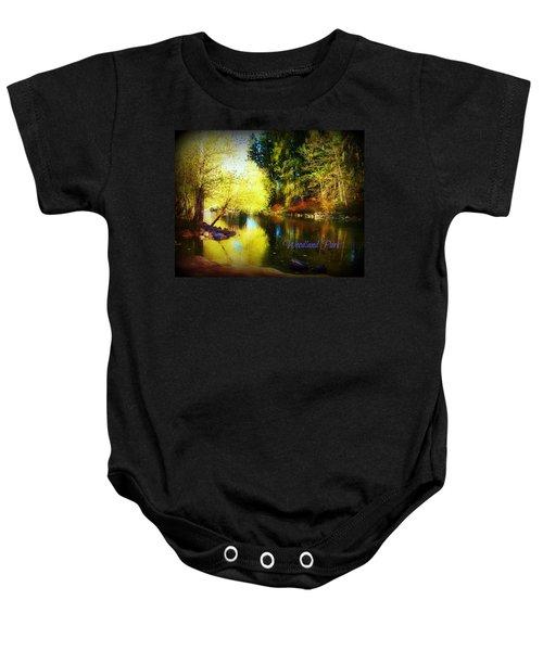 Woodland Park Baby Onesie