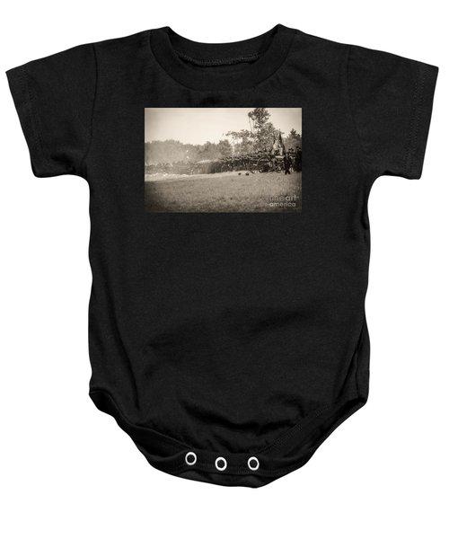 Gettysburg Union Infantry 9968s Baby Onesie