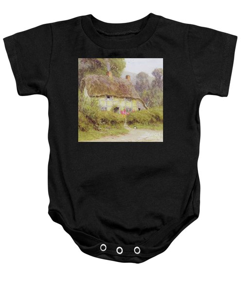 A Country Cottage Baby Onesie