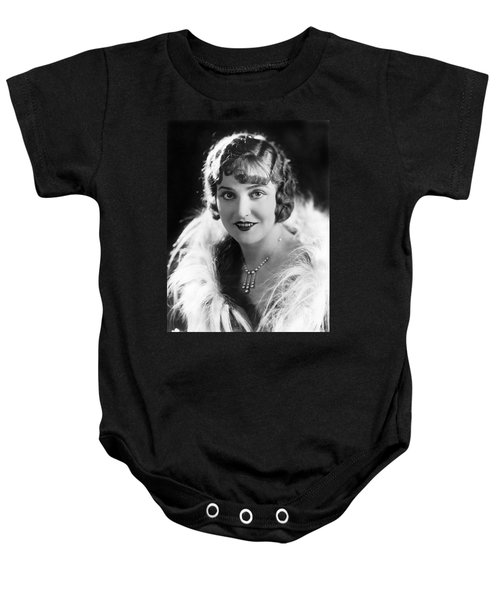 Actress Agnes Ayres Baby Onesie by Underwood Archives