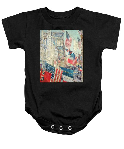 Allies Day - May 1917 Baby Onesie
