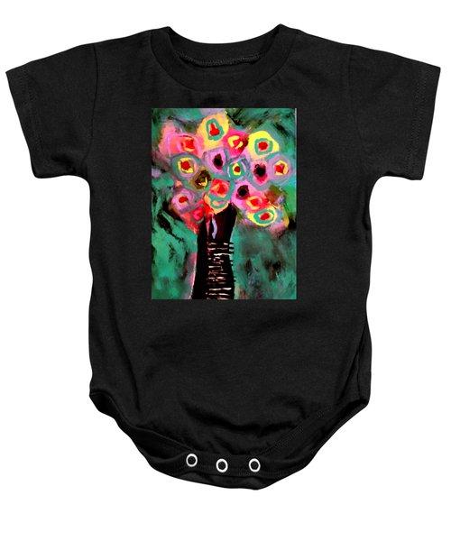 Anemones Baby Onesie