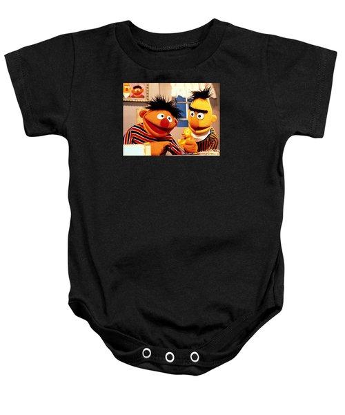 Bert And Ernie Baby Onesie