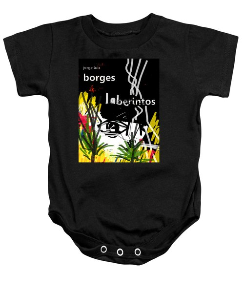 Borges' Labyrinths Poster Baby Onesie