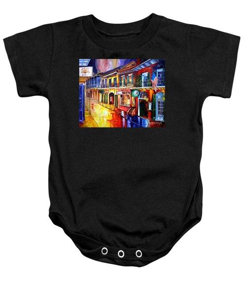 Bourbon Street Red Baby Onesie