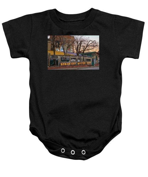 Broadway Oyster Bar Baby Onesie