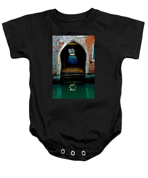 Canal Entrance Baby Onesie