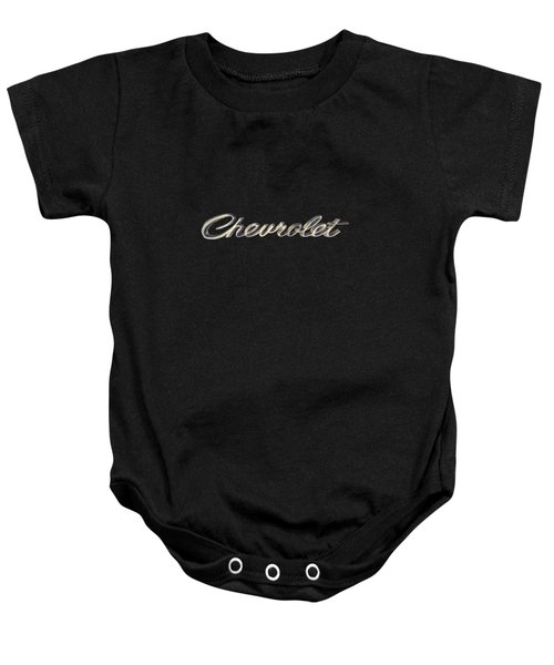 Chevrolet Emblem Baby Onesie