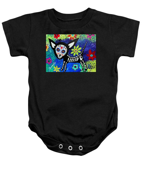 Chihuahua Day Of The Dead Baby Onesie