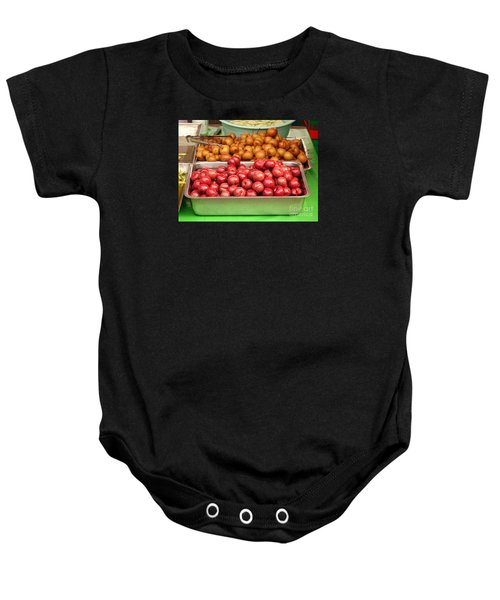 Chinese Plums And Pears Pickled In Sugar Baby Onesie