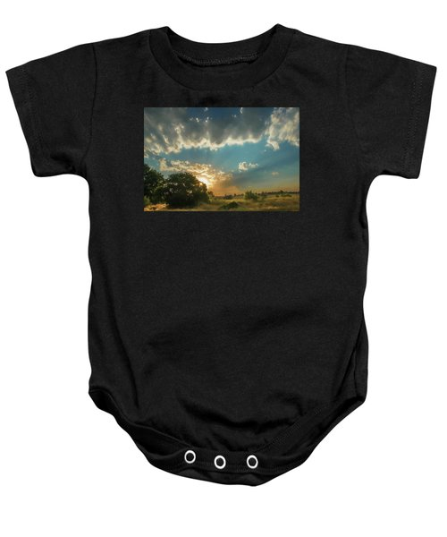 Colorado Sunset Baby Onesie
