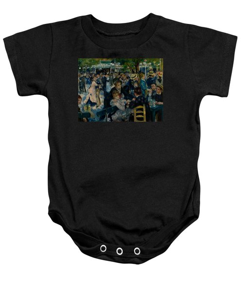 Dance At Le Moulin De La Galette  Baby Onesie