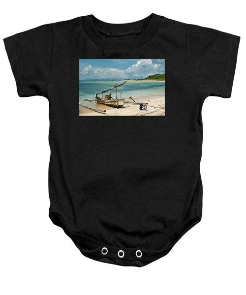 Fishing Boat Baby Onesie
